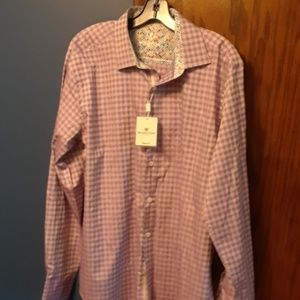 Bugatchi uomo shirt new w tags L